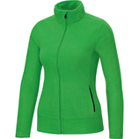 jako 7701 22 Fleecejacke Team soft green/schwarz