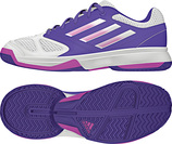 ADIDAS Feather Team 3 Kids weiss-lila (#B35951)