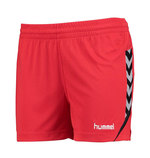HUMMEL AUTHENTIC CHARGE Poly Shorts Women rot (#011335-3062)